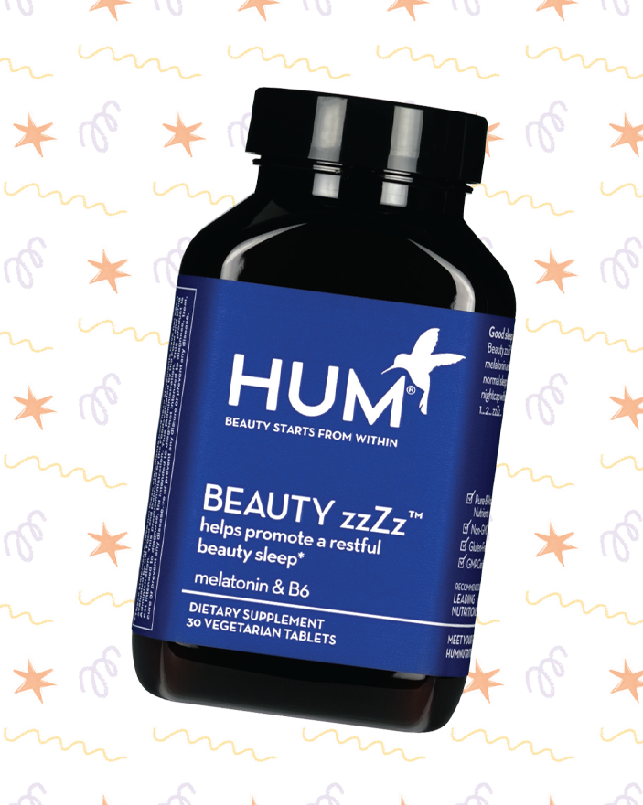 HUM BEAUTY zzZz 30 VEGETARIAN TABLETS