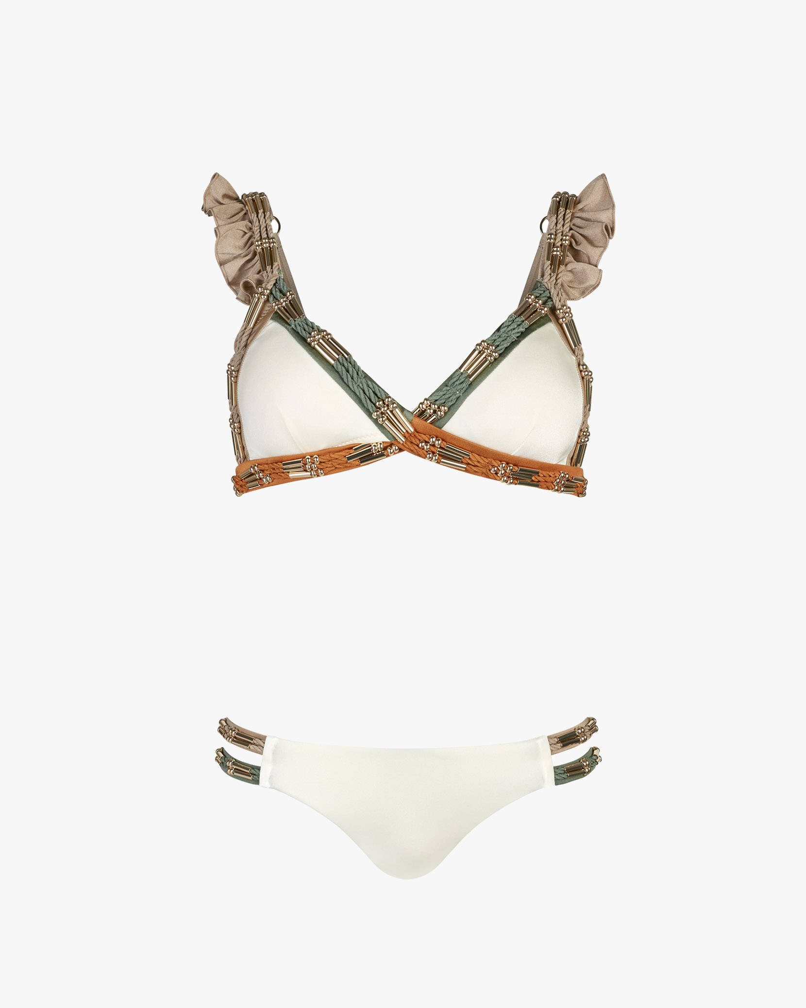 Lily & Rose Swimwear - Gatsby Bikini in Vanilla