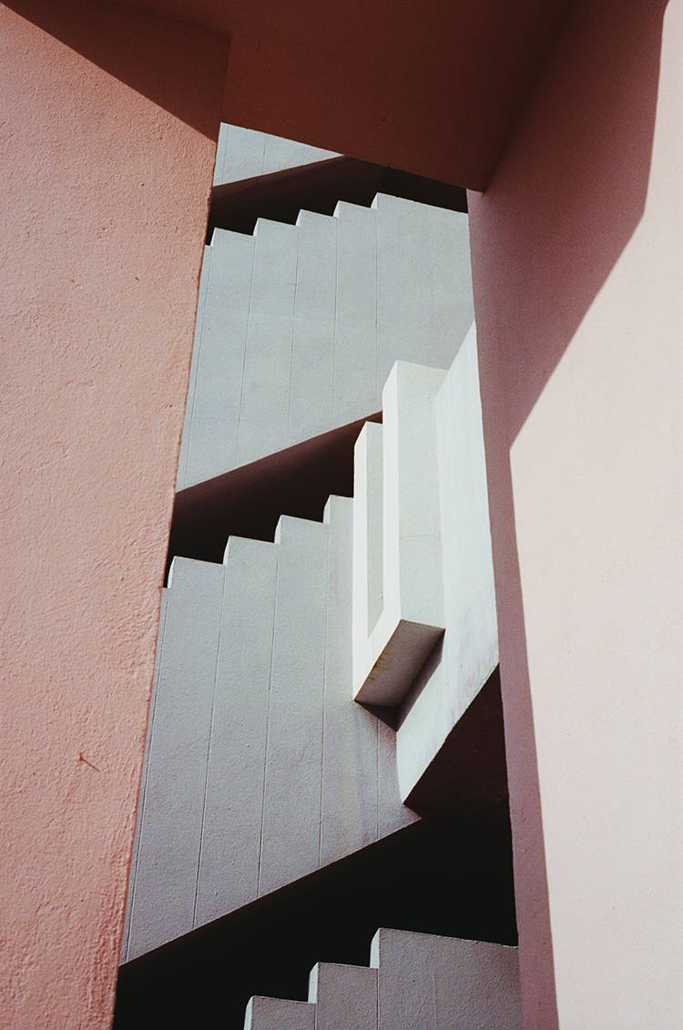La Muralla Roja by Ricardo Bofill | Photographed by Hannah Davis for Wolf & Moon Jewellery