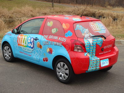 Fizzies Fleet Wrap