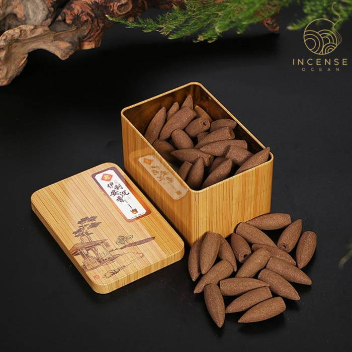 incense cones open box