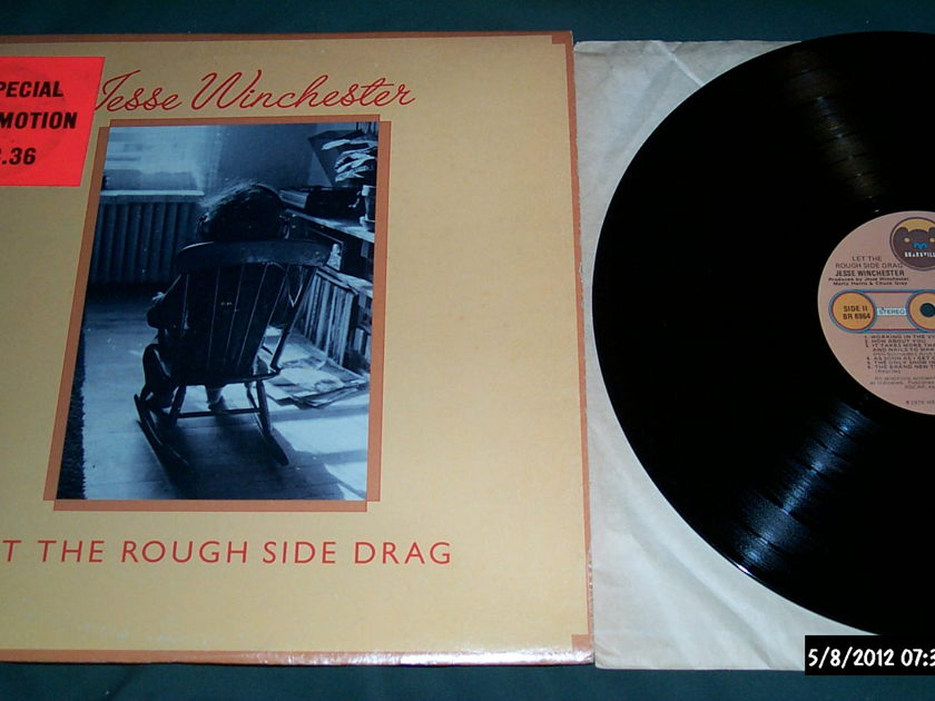 Jesse Winchester - Let The Rough Side Drag LP NM