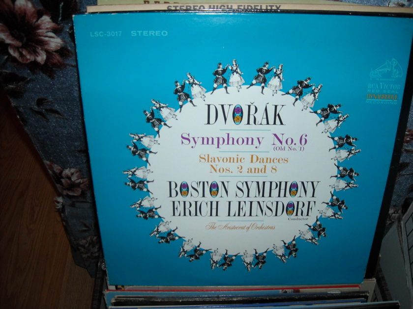 Dvorak - Symphony No. 6 (Old No. - 1) Slavonic Dances 2 and 8 RCA  LP  (c)