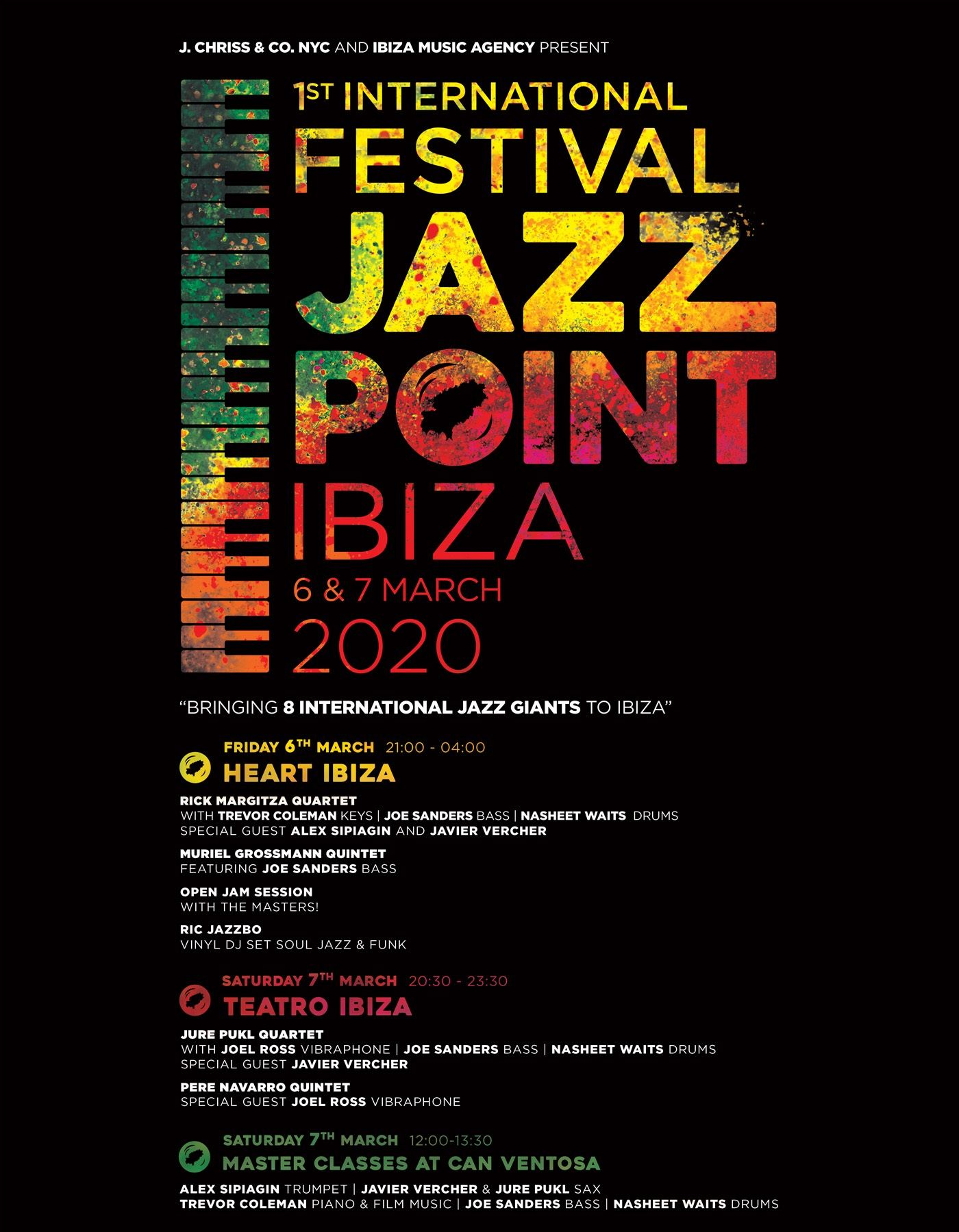 Entradas festival internacional jazz ibiza, jazz point