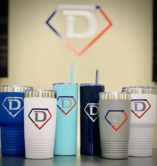Custom branded water bottles coffee mugs and tumblers happy customer testimonial for promotional products from crossfit gym
