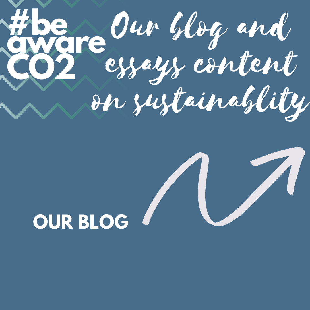 beawareco2 blog on sustainability