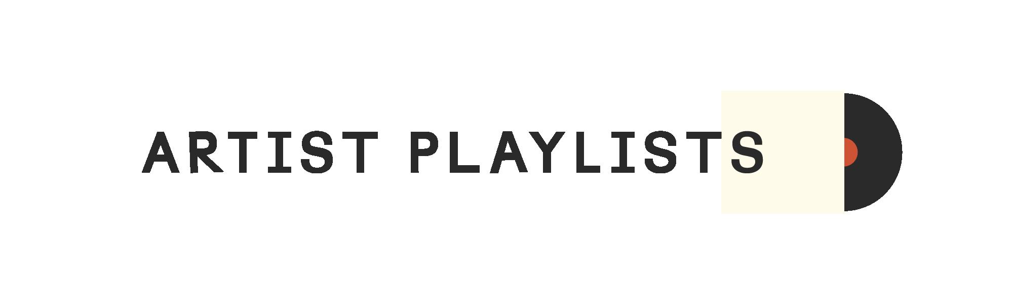 Artist Playlists