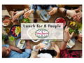 Lunch Party at Johnny Pepperoni