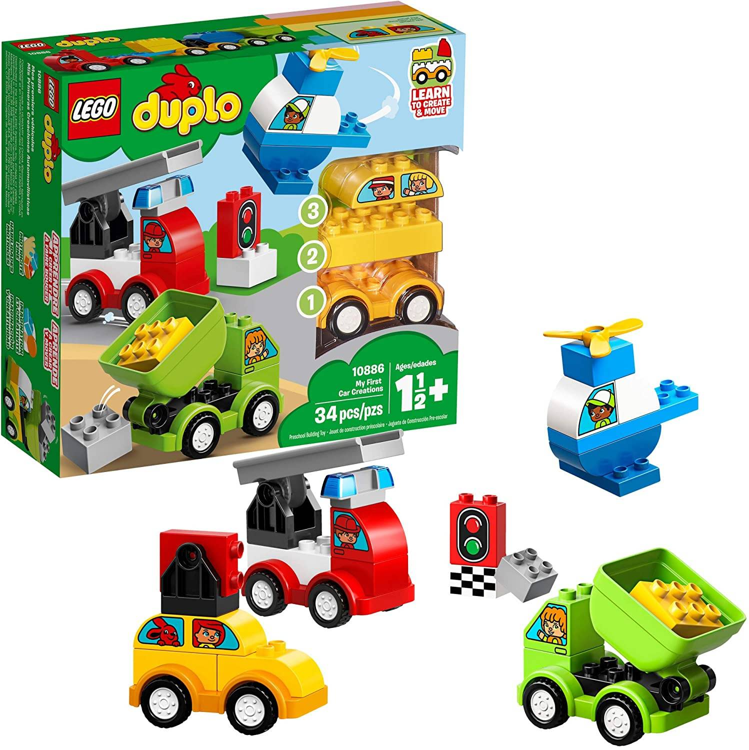 LEGO DUPLO my first car creation