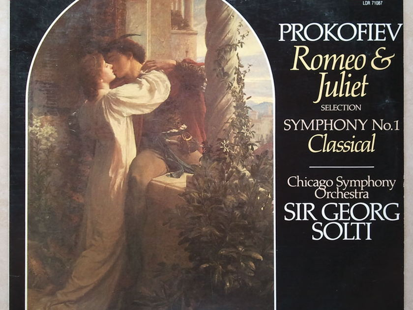 "London Digital/Solti/Prokofiev - Romeo & Juliet, Symphony No.1 ""Classical"" / NM"