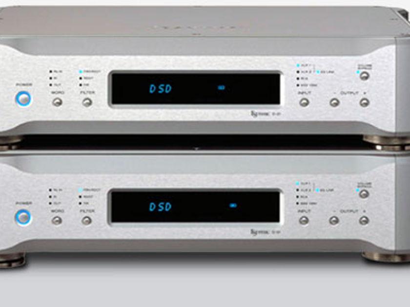 Esoteric D-01 Monaural PCM & DSD D/A Converters (Pair) NIB!