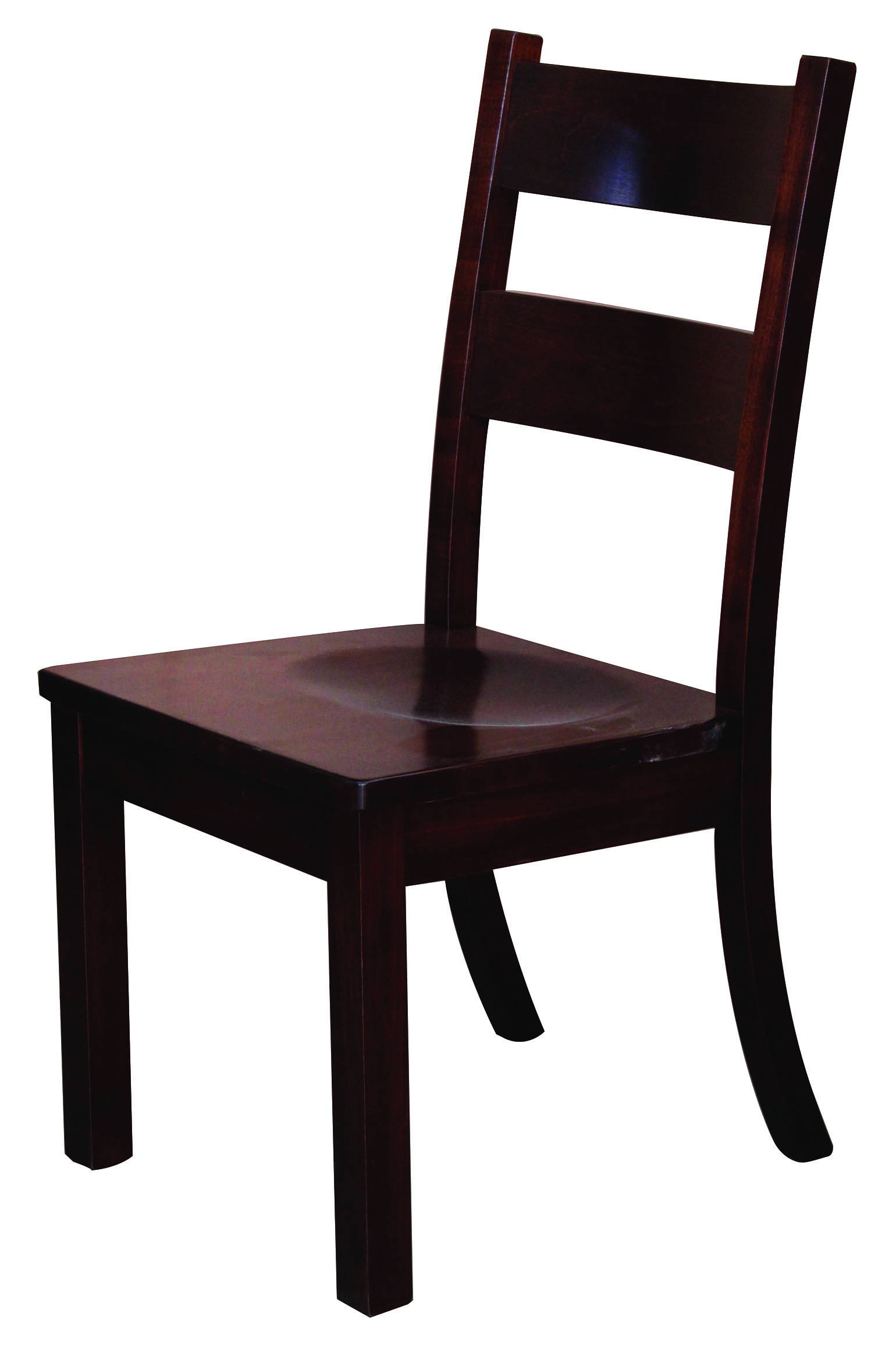 Western Solid Wood, Handcrafted Kitchen Chair or DIning Chair from Harvest Home Interiors Amish Furniture