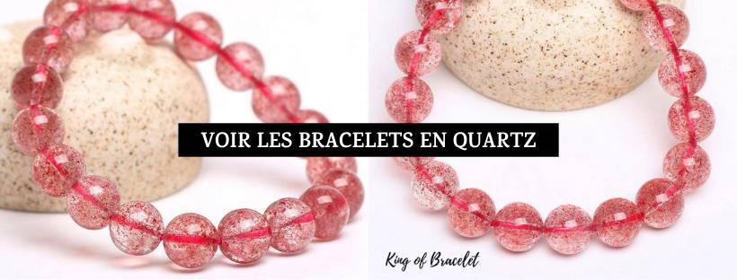 Bracelet Quartz Fraise - King of Bracelet