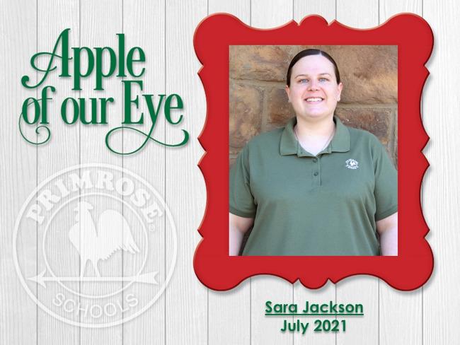 July 2021 - Sara Jackson