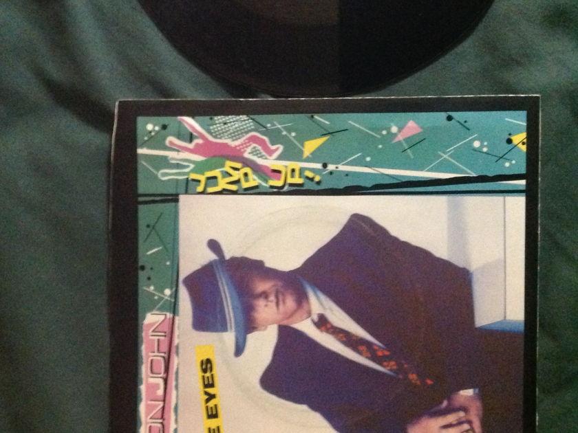 Elton John - Blue Eyes 45 With Sleeve