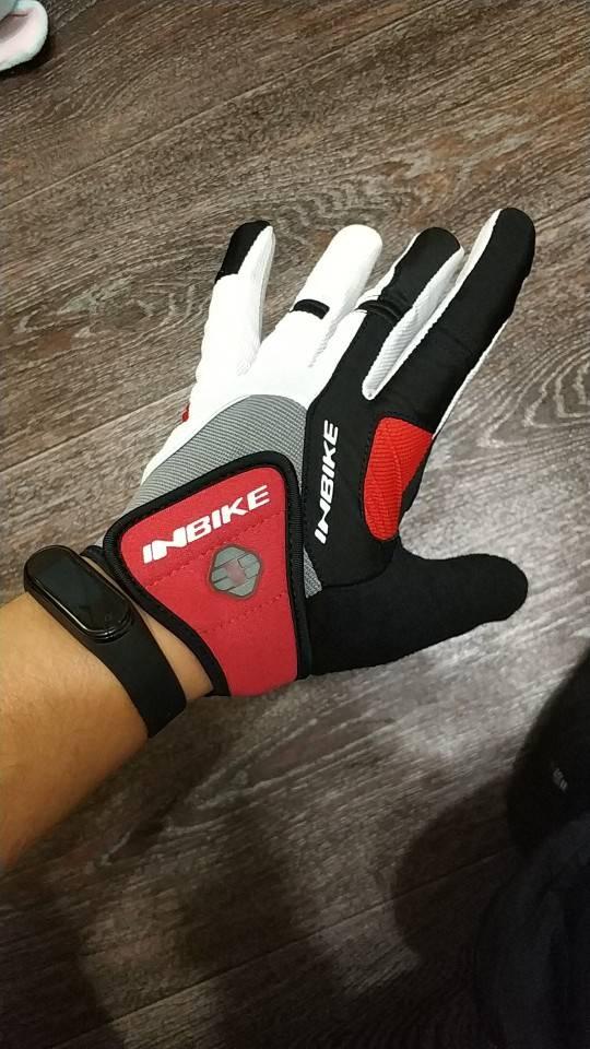 gants trottinette rembourrés antichocs rouge