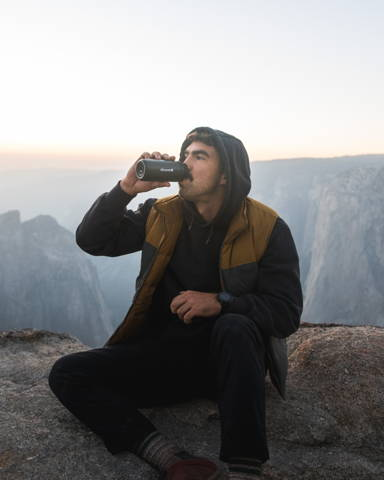 Black Camping Mug for Travel