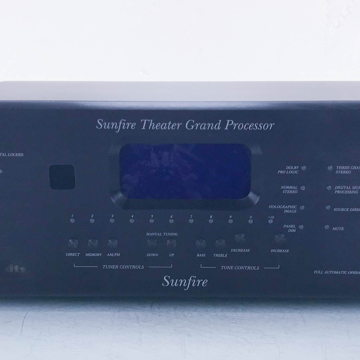 Theater Grand Processor; 5.1 Channel Home Theater