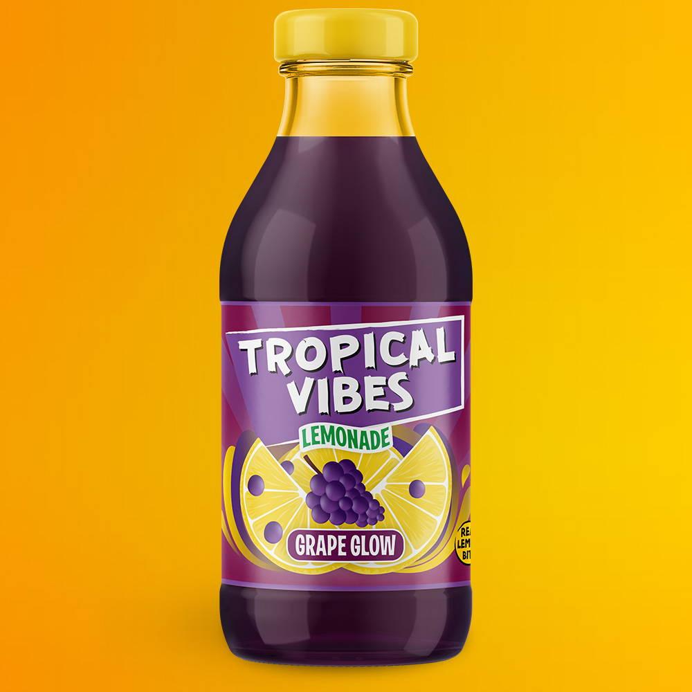 tropical vibes grape glow lemonade