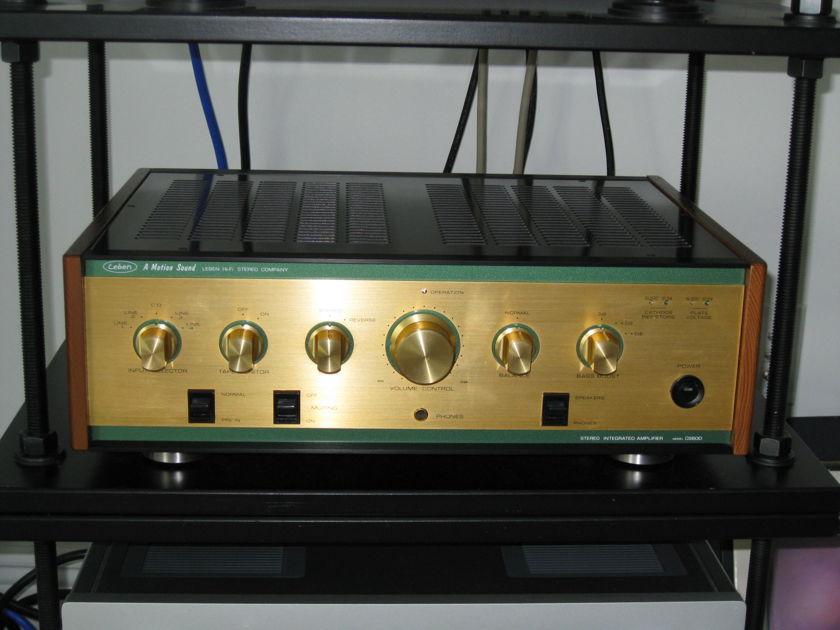 Leben CS-600 Tube Integrated