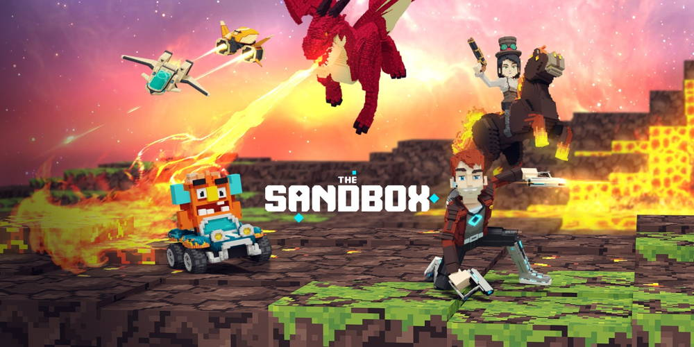 the sandbox video game with cryptocurrenices