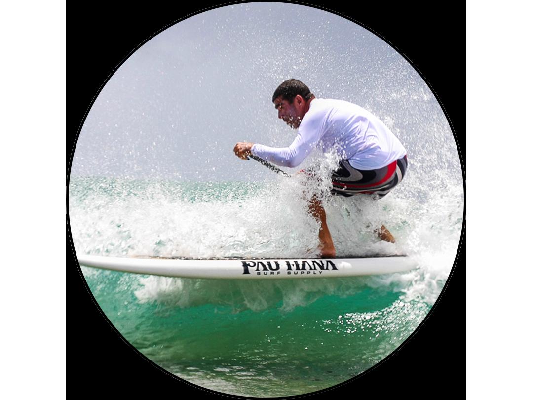 CARLOS MACIAS PADDLE SURFER, DISTANCE RACER