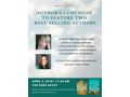 "Two Tickets to Roots & Wings' Author's Luncheon plus ""A Piece of the World"" by Christina Baker Kline and ""Saints for All Occasions"" by J. Courtney Sullivan"