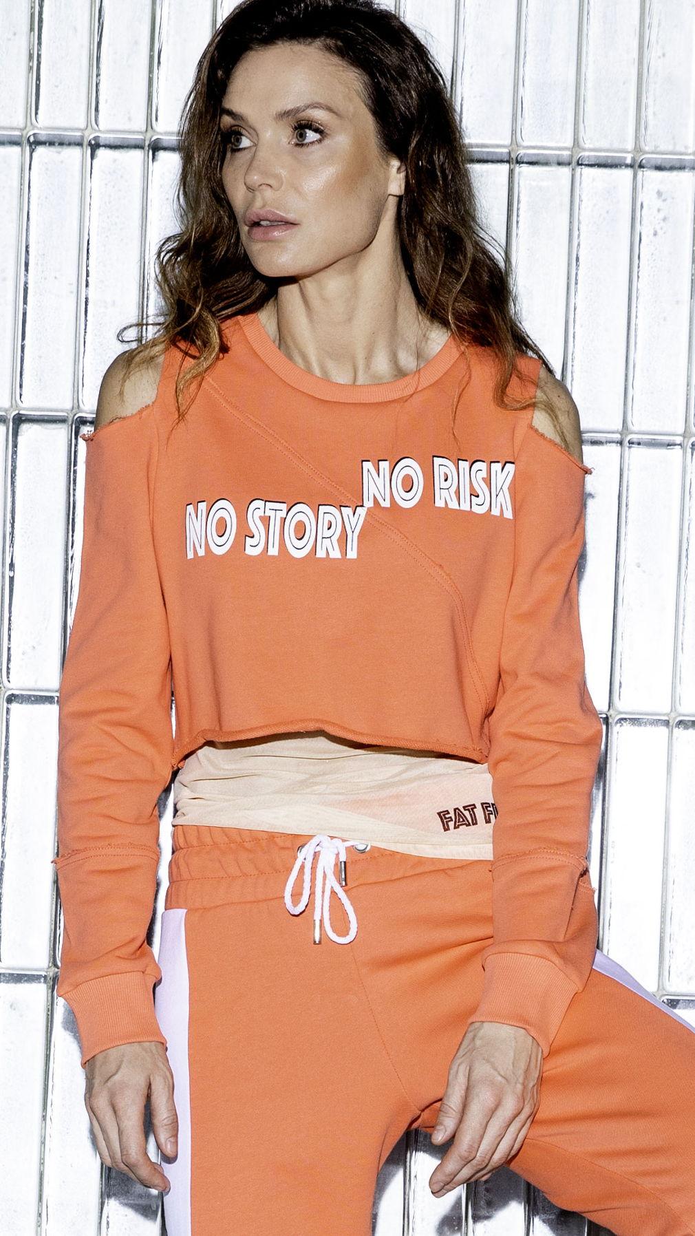 Свитшот No Risk No Story