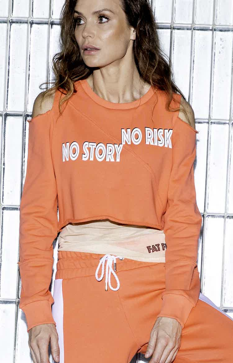 No Risk No Story sweatshirt