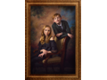 Masterpiece Portrait for Family or Individual at the Hotel Elysée by Masana