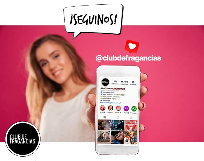 Seguí a Club de Fragancias en Instagram