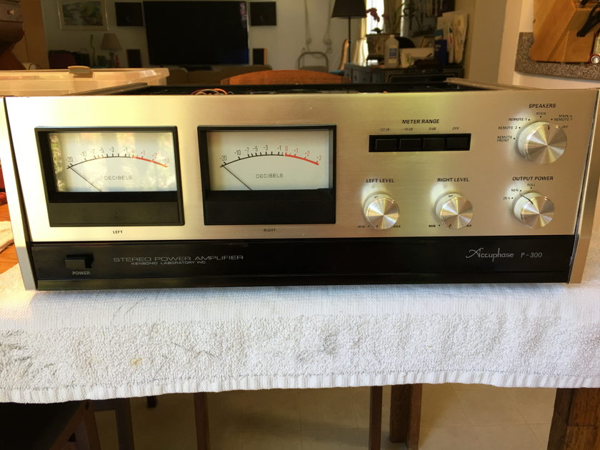 ACCUPHASE P-300 PROFESSIONALLY RESTORED