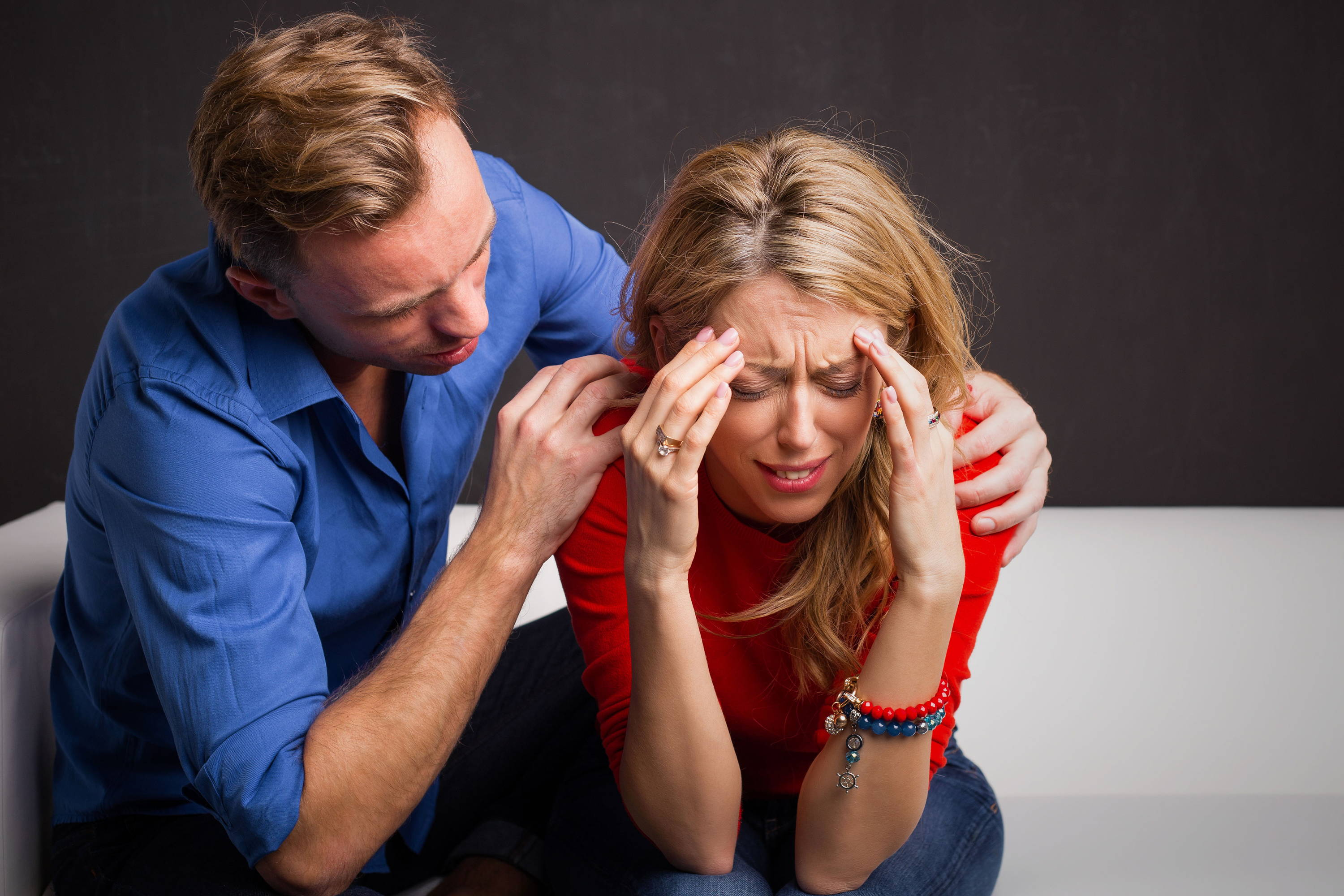 How to talk to your wife about her mood swings during