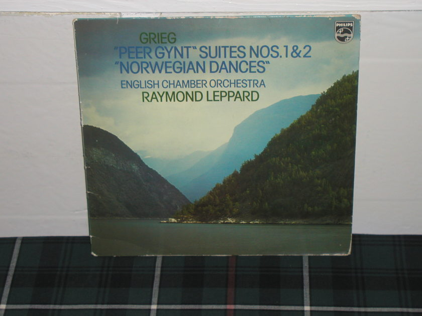 Leppard/ECO - Grieg Peer Gynt Philips Import Pressing 9500
