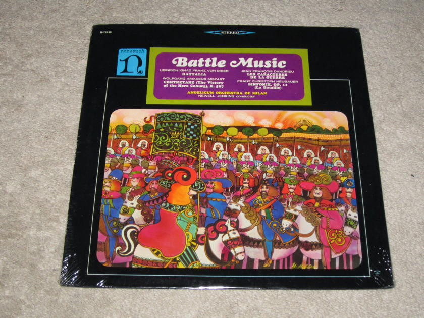 Nonesuch (Sealed) - H-71146 Battle Music