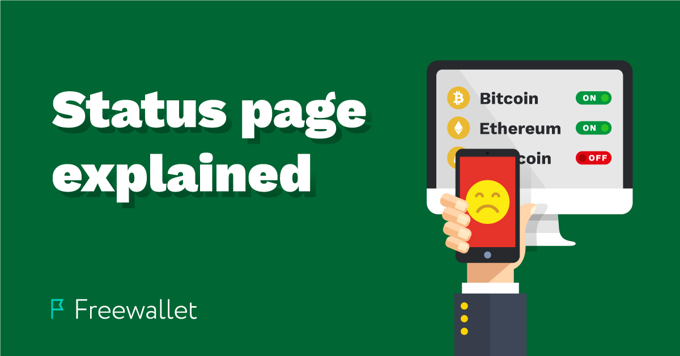 Status page explained