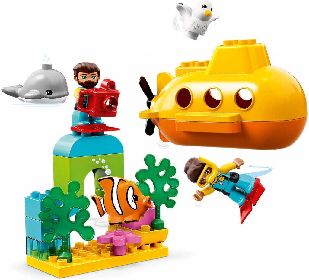 LEGO DUPLO town submarine adventure