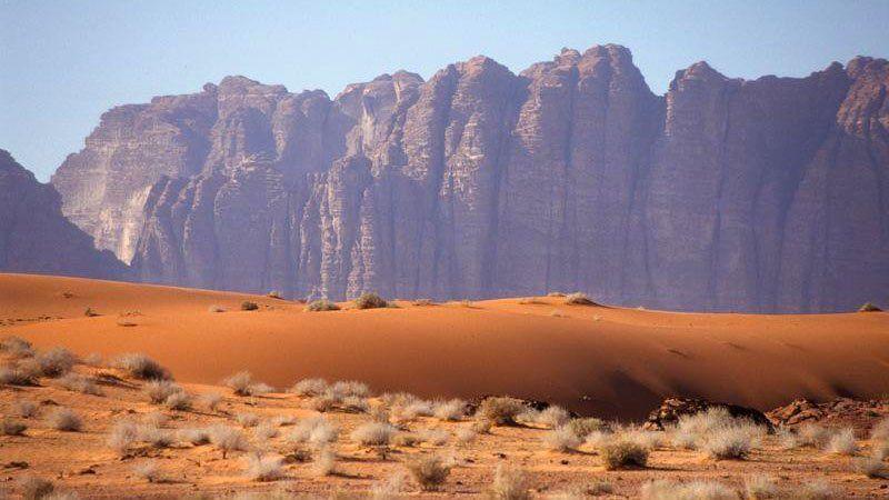 Desert scenery, Wadi Rum, Jordan