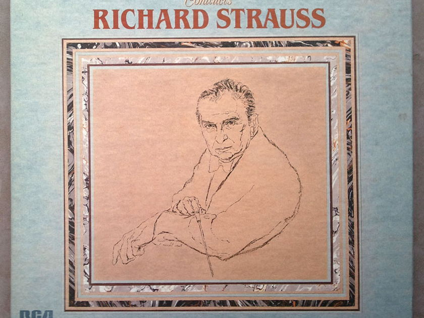 RCA Digital | REINER/STRAUSS - A Hero's Life, Don Quixote, Also sprach Zarathustra, Burlesque, ... 4-LP / NM