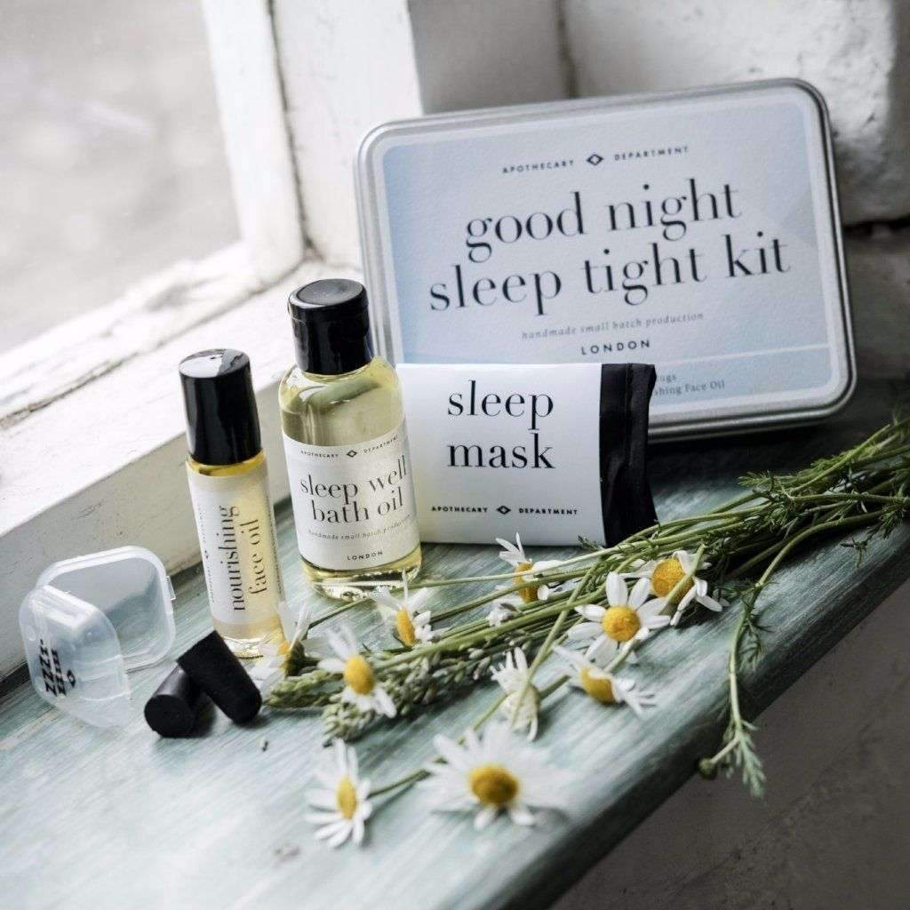 Goof Night, Sleep Tight Relaxation Kit, Hand Made Mother's Day Gift