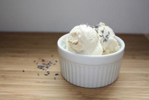 Мороженое с Лавандой