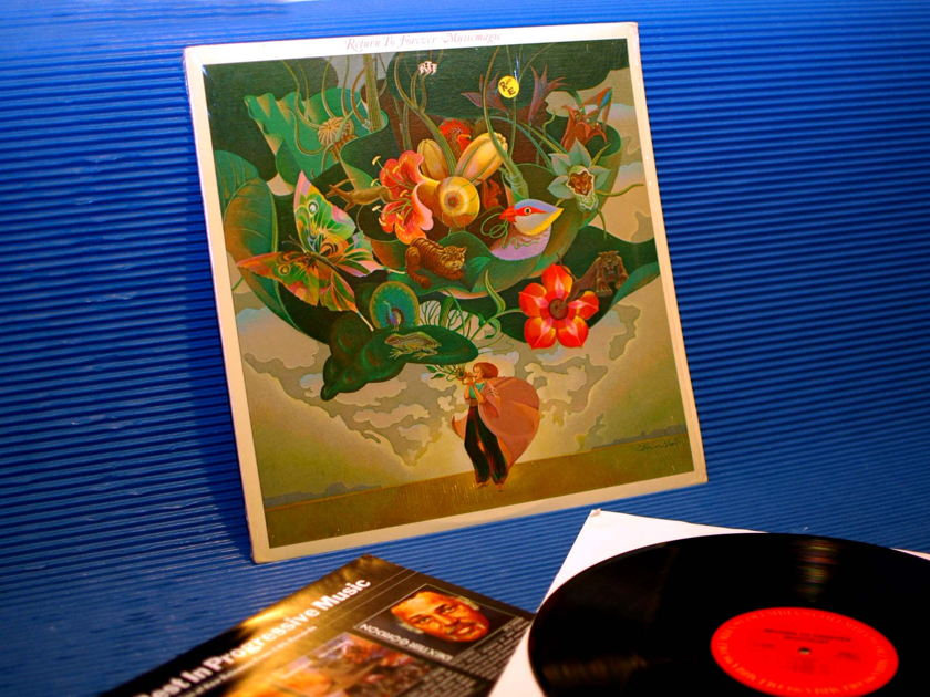 "RETURN TO FOREVER -  - ""Music Magic"" -  CBS 1977"
