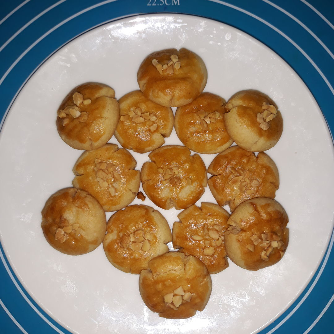Made this Almond cookies and turn out great and tasty!:)