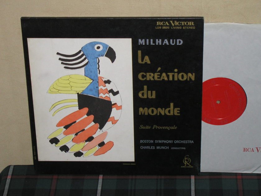 "Munch/BSO - Milhaud La Creation 1S/1S ""I"" RCA LDS 2625 Soria"