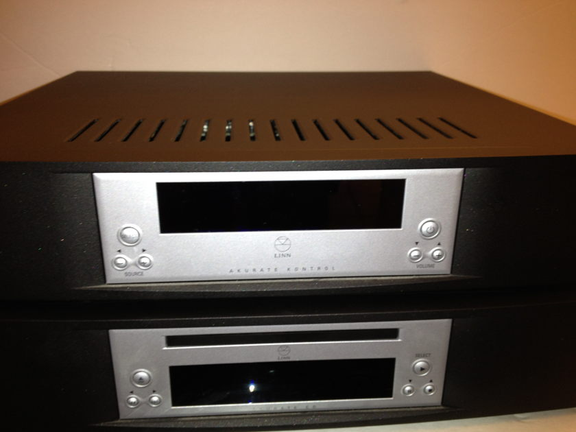 Linn  Akurate Preamp and Akurate CD player will split