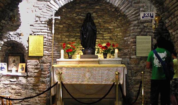 Домик Пресвятой Богоматери Девы Марии, Базилика Св.Иоанна