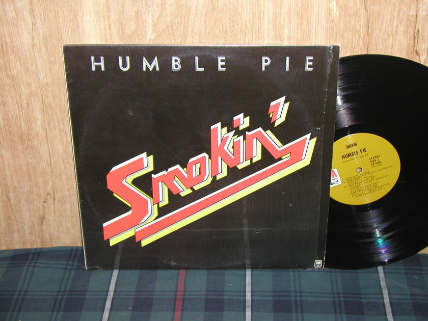 Humble Pie - Smokin' (Still in Shrink) Tan label A&M SP-4342