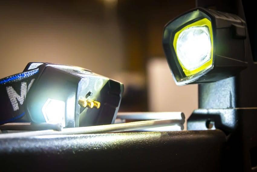 MORF R230 Head Lamp, MORF Head Lamp, Hiking Head Lamp, Head Lamp, Camping Head Lamp, Rechargeable Head Lamp, Removable Head Lamp