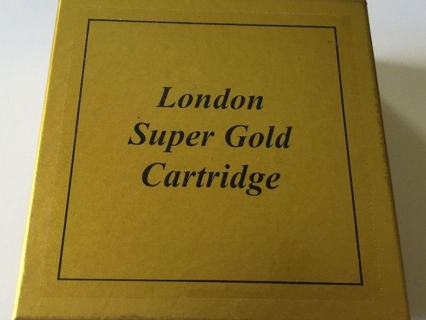 London Decca Super Gold cartridge w/Decca Pod