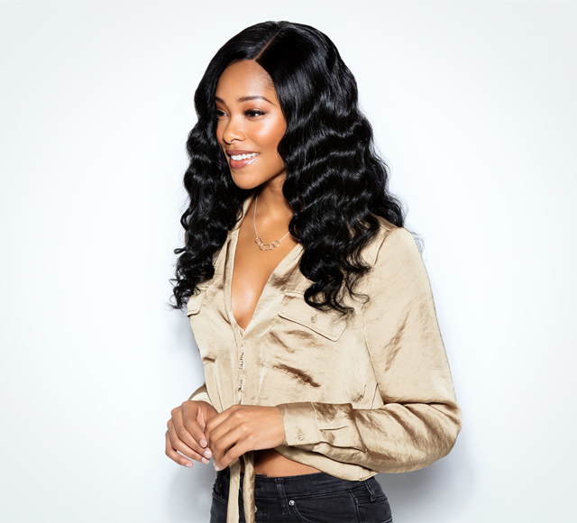 Loose Wave #1 Jet Black Closures Mayvenn